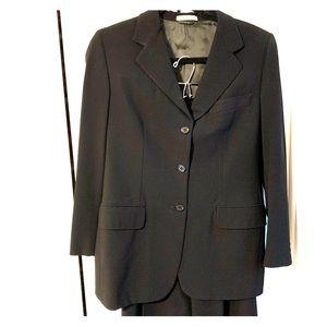 Burberry Women's Suit Jacket & Pants Set Black